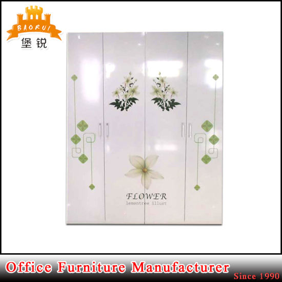 Low Price Metal Dressing Cupboard / Steel Wardrobe pictures & photos