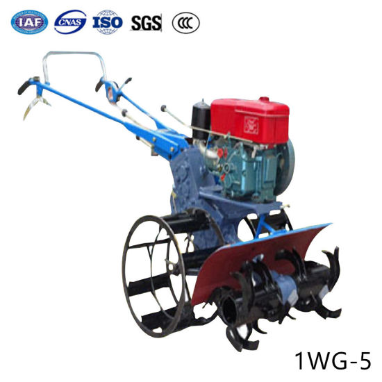 Agricultural Cultivation Gasoline Diesel Rotavator Mini Power Rotary Tiller with Harrow Plow Tools pictures & photos