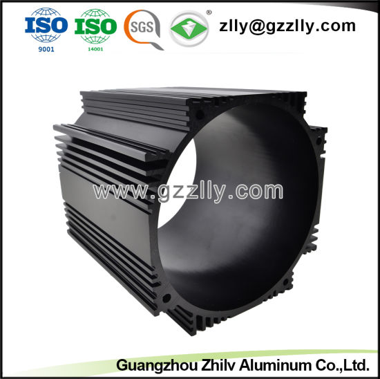 Aluminum/Aluminum Extrusion Motor Radiator with ISO9001 pictures & photos
