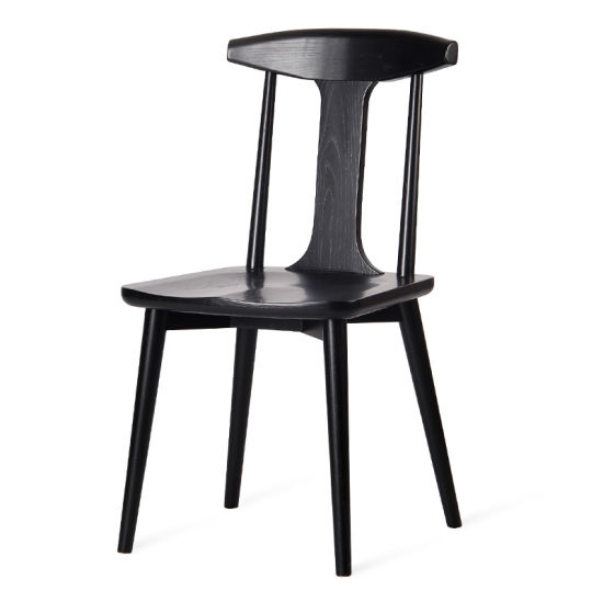 Kvj-7020 Strong China Made Solid Wood Ash Restaurant Dining Chair pictures & photos