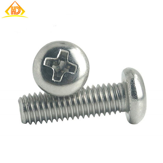 Stainless Steel 304 M3 Phillips Pan Head Machine Screw pictures & photos