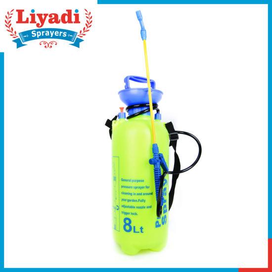 8L Agricultural Home Trigger Pressure Shoulder Sprayer pictures & photos