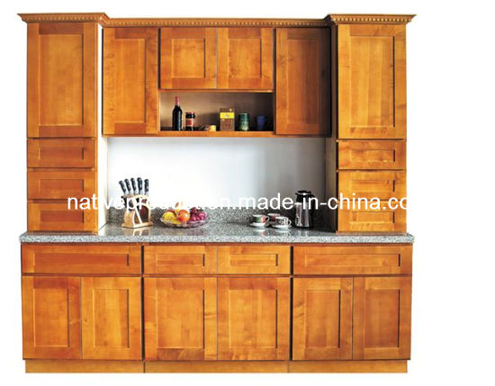 China Kitchen Cabinets Manufacture Furniture Solid Wood Supplier