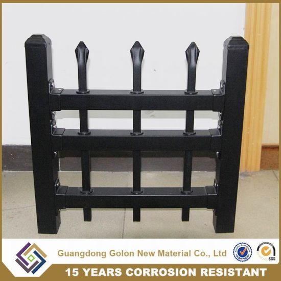 Spear Top PVC Power Coated Pool Iron Fence Metal Farm Fence Garden Fencing pictures & photos