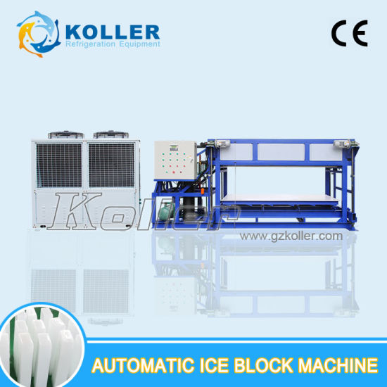Koller 5000kg Per Day Top Quality Automatic Ice Block Machine pictures & photos