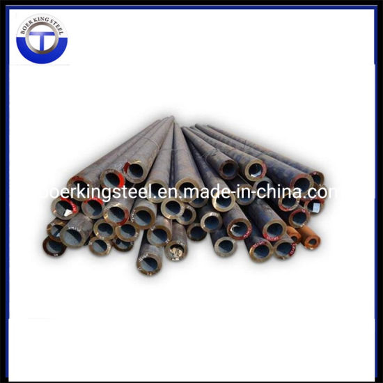 En10210 E235 S235 Black Seamless Steel Pipe pictures & photos