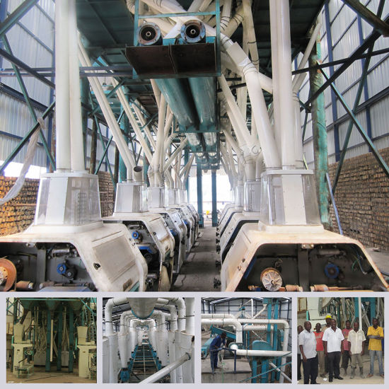 200t/24h Complete Wheat Flour Mill in Ethiopia pictures & photos
