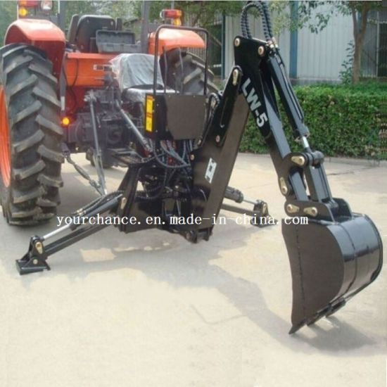 2019 Hot Sale Lw-5 Small Garden Backhoe for 15-25HP Tractor pictures & photos