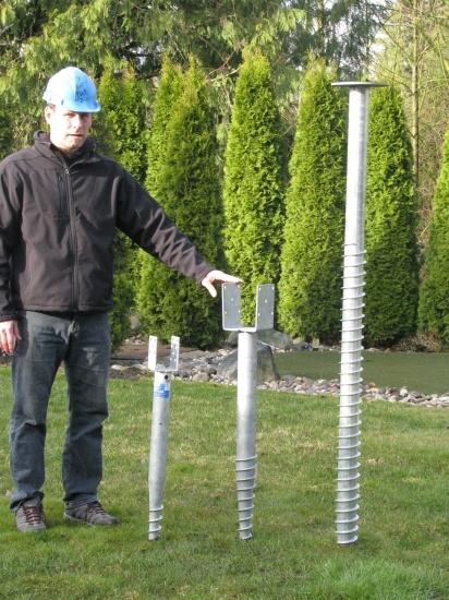 HDG Concrete Steel Ground Screw pictures & photos