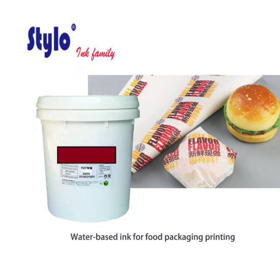 Water-Based Ink for Food Packaging Printing pictures & photos