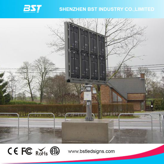Waterproof P6 Outdoor Advertising LED Display 1r1g1b, LED Video Display Board pictures & photos