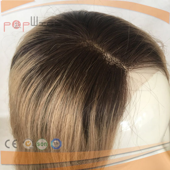 Omber Color Skin Full Hand Tied Lace Wig (PPG-l-0158) pictures & photos