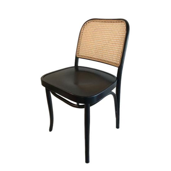 Kvj-Ec14 Hoffman Rattan Wooden Black Designer Dining Chair pictures & photos