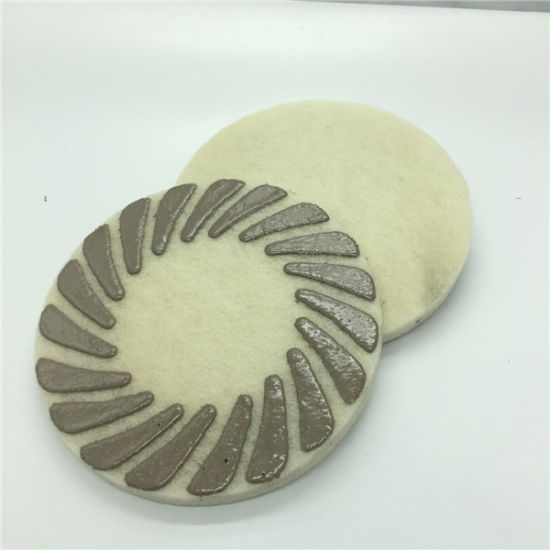 17 Inch Sponge Diamond Polishing Pads for Marble Granite Surface Cleaning pictures & photos