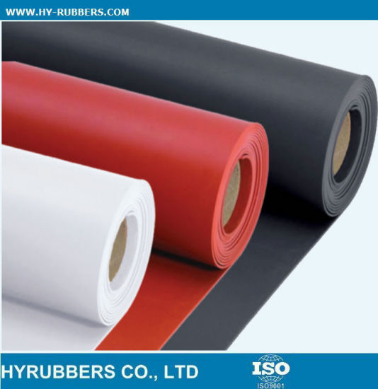 Red Industrial Rubber Sheet NBR Rubber Sheet pictures & photos