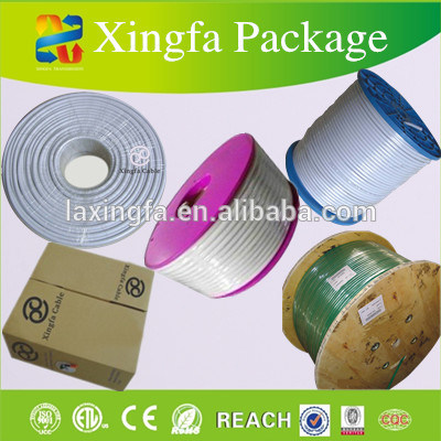 Xingfa Ethernet Flat CAT6 UTP Cable pictures & photos