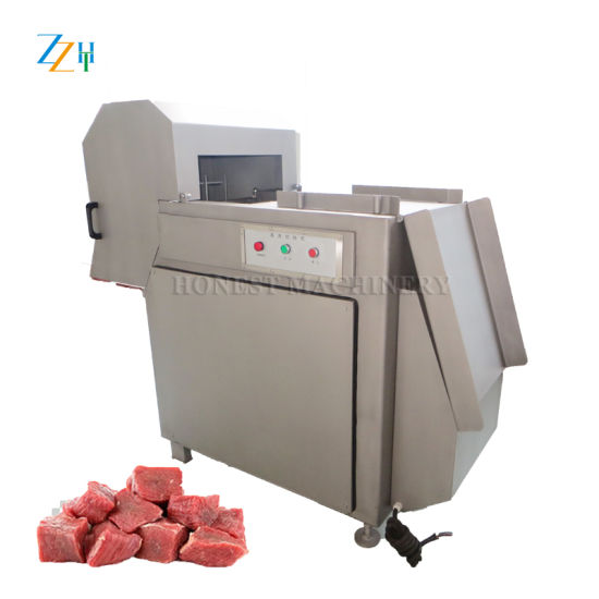 Competitive Frozen Meat Cube Cutting Machine / Meat Cutting Machine pictures & photos