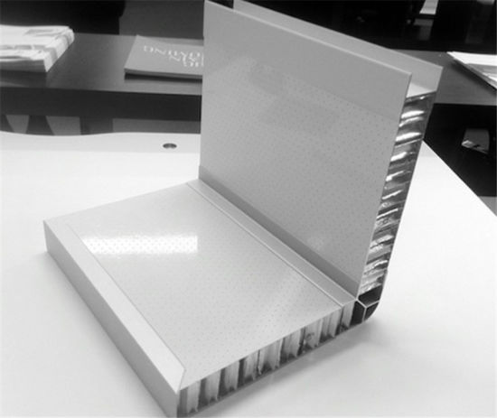 Aluminum Honeycomb Panel with Aluminum Profile Frame for Wall Building Materials pictures & photos
