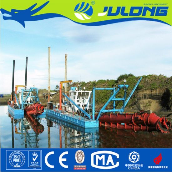 6′′-20′′ Hydraulic Cutter Suction Dredger/Sand Dredger for Sale pictures & photos