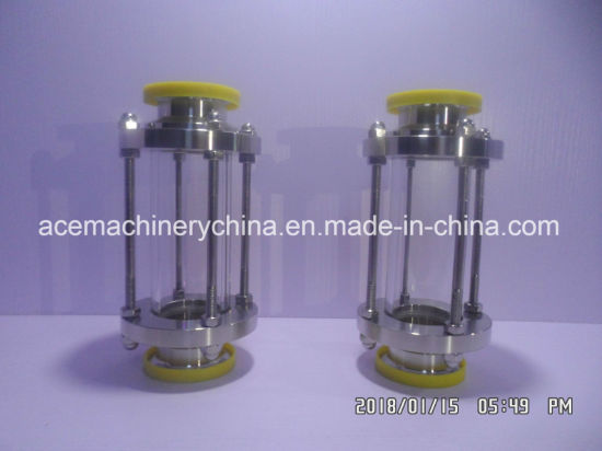 Sanitary Stainless Steel Straight Inline Type Tri Clamp Tubular Sight Glass pictures & photos