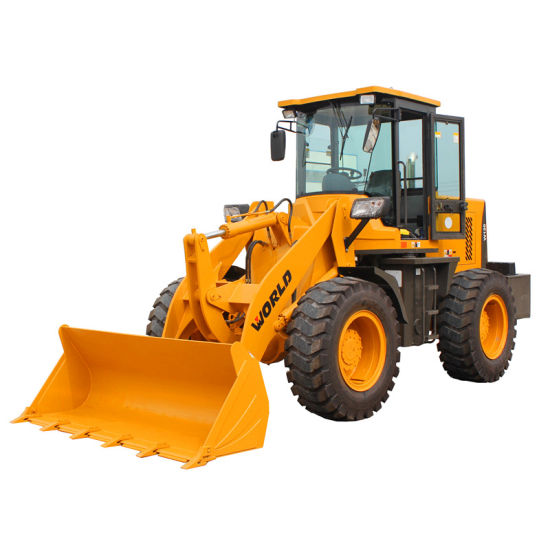 2 Ton Small Size Wheel Drive Front Type Mini Loader pictures & photos
