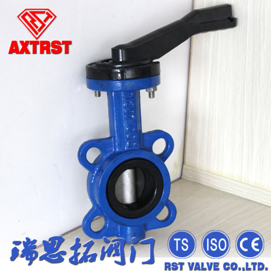High Quality Wafer Type Butterfly Valve pictures & photos