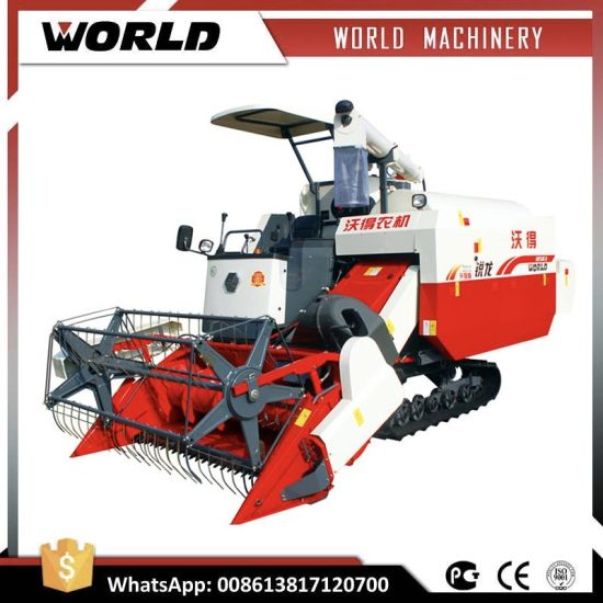 Hot Sale 4lz-4.0e Axial Flow Type Rice and Wheat Combine Harvester pictures & photos