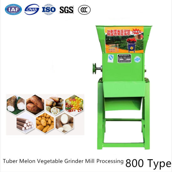 Cassava Tapioca Tubers Milling Fruit Grinding Extraction Machine pictures & photos