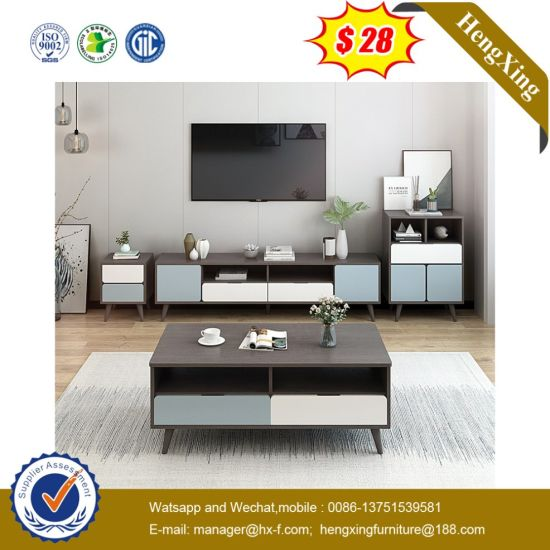 Modern Bedroom TV Cabinet Coffee Table Combination Set pictures & photos