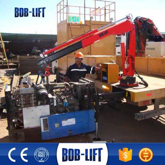 Mini Hydraulic Pickup Truck Lift Crane pictures & photos