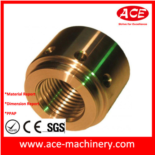 China Supplier Hardware CNC Machining of Copper Bush pictures & photos