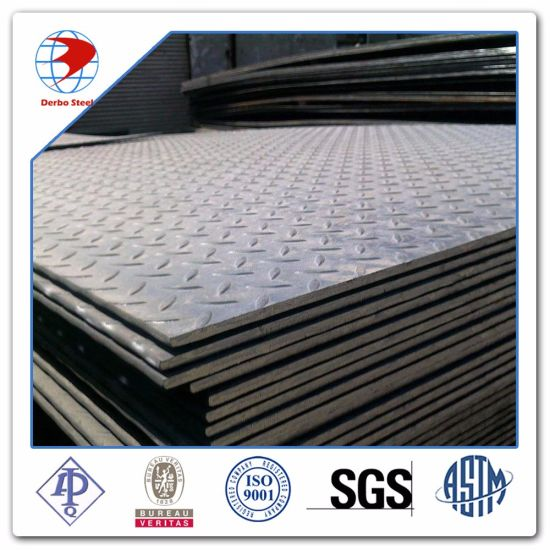 ASTM A36 Carbon Steel Teardrop Checkered Steel Sheet pictures & photos