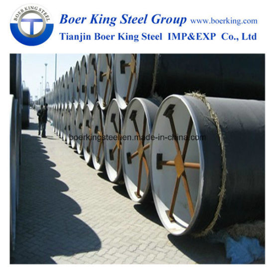 3PE Coating Anti-Corrosion Spiral/ERW/SSAW Mild Steel Pipe pictures & photos
