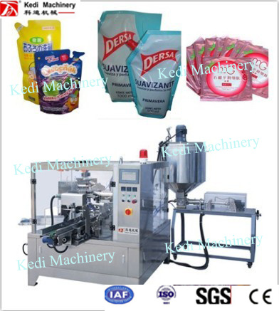 Rotary Liquid and Paste Packaging Machinery Approved CE (GD6-200) pictures & photos
