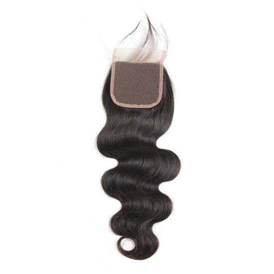 Fashion Women Wigs Synthetic Black Medium Long Human Hair pictures & photos