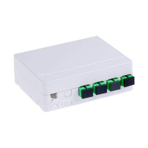FTTH 4 Ports Fiber Optic Mini Termination Box Distribution Box pictures & photos