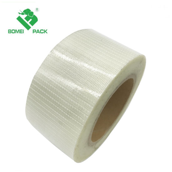 Mesh Reinforced Woven Filament Tape with Superior Fiberglass and Qualified Pet Film pictures & photos
