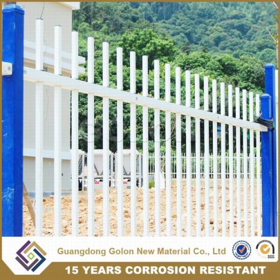 Decorative Galvanized Steel Ornamental Fence pictures & photos