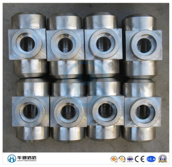 ANSI Carbon Steel Fittings Forged Socket Weld Tee pictures & photos