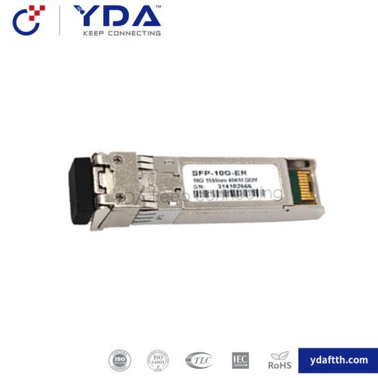 FTTH Fiber SFP Module 10g-Lr 20/40/80km Compatible Huawei/Cisco SFP pictures & photos