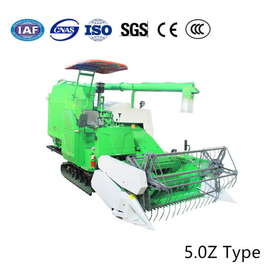 Full Feeding Crawler Type Large Size Grain Tank Combine Harvest Harvesting Thresher Machine pictures & photos