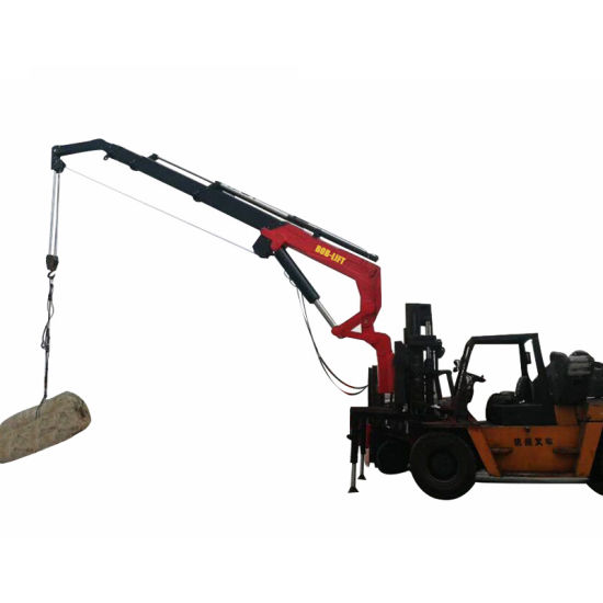 Attachment Jib Forklift Boom Crane Safety pictures & photos