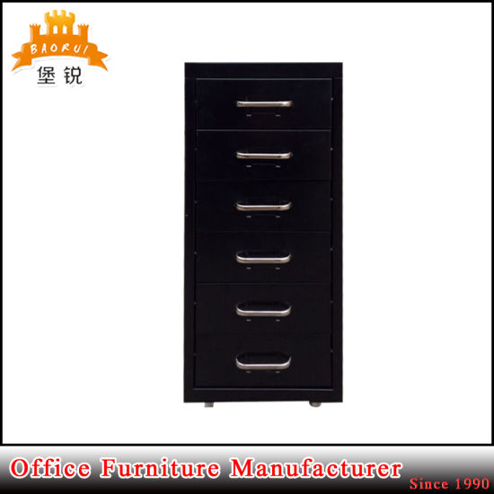 Jas-117 Office Colorful Helmer 6 Drawers Chest of Drawers Mobile File Cabinet pictures & photos