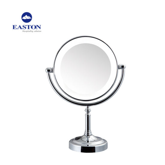 LED Table Make up Magnifying Mirror for Hotel pictures & photos