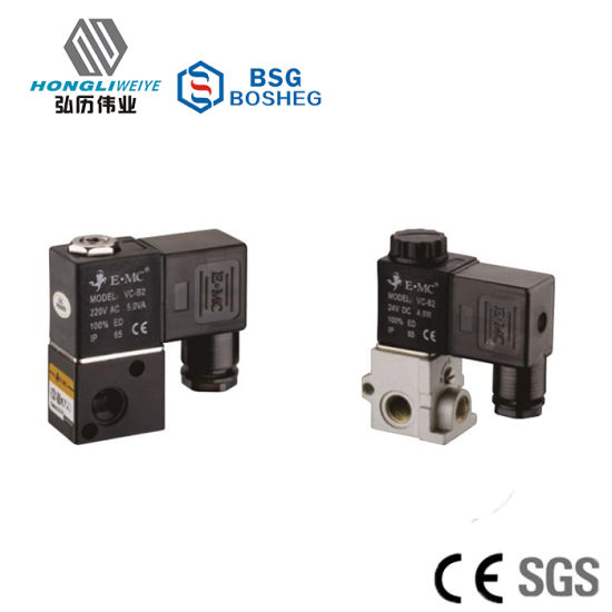 V Series Standard Low Power Solenoid Valve 3/2 Way pictures & photos