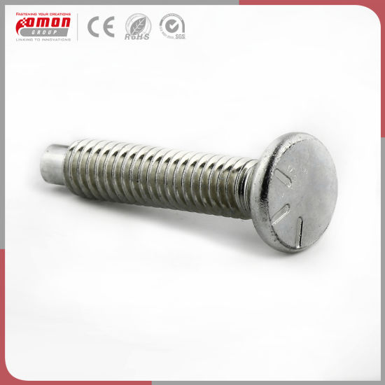 OEM Building  Common Round Head Moulding Screw Stud Flange Bolt pictures & photos