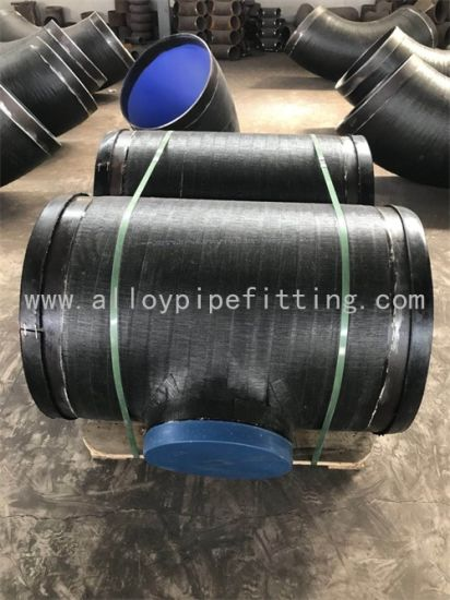 Steel Fitting, Tee, Awwa C209 Cold-Applied Tape Coatings for Steel Water Pipe Fittings pictures & photos