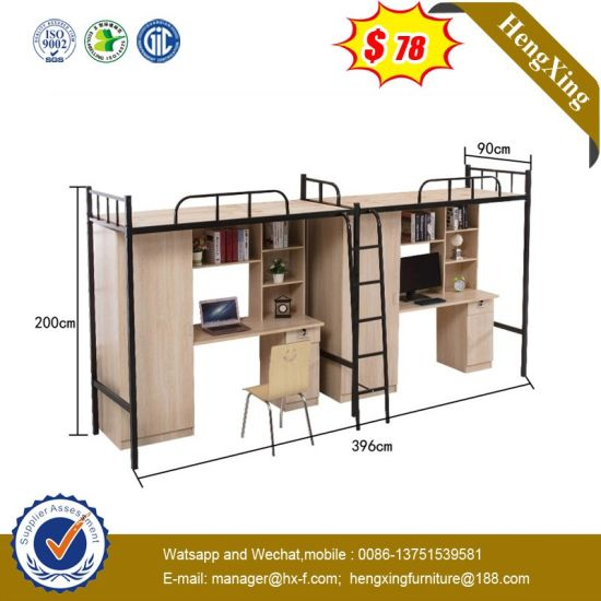 Modern Children Home School Bunk Metal Single Double Dormitory Bed pictures & photos