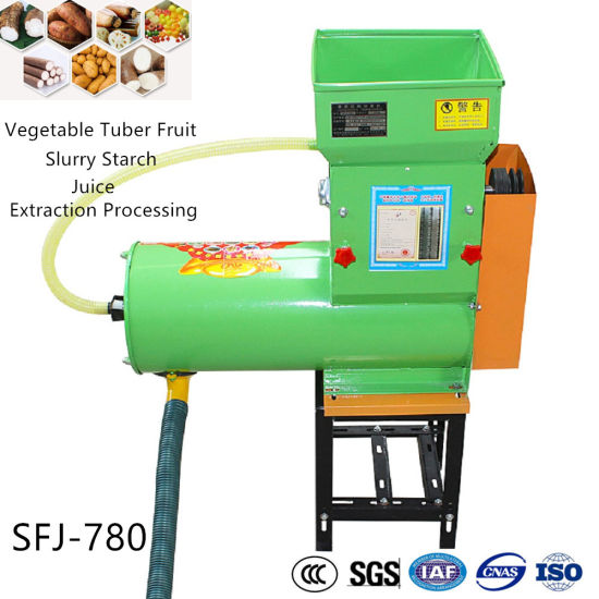 Tapioca Cassava Potato Tubers Milling Flour Grinder Starch Sorting Refining Machine pictures & photos