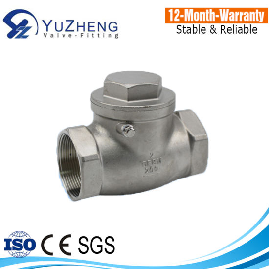 Ss316 API Swing Check Valve pictures & photos